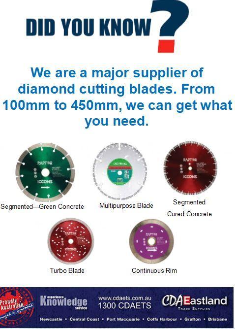 Did You Know? Diamond Cutting Blades
