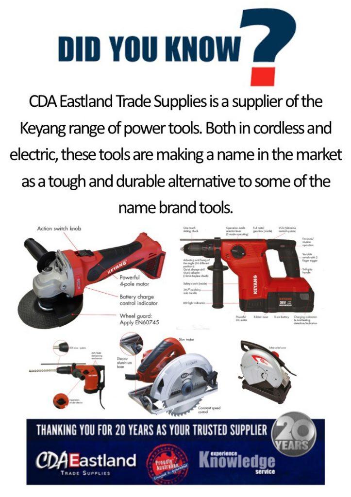 Did You Know? Keyang Tools