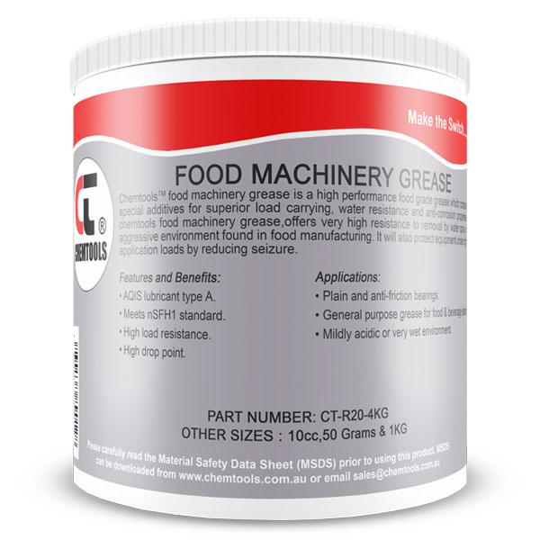 Buy CHEMTOOLS FOOD GRADE MACHINERY GREASE 4KG BULK from CDA Eastland