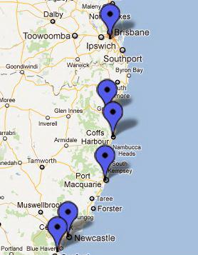 CDA Eastland Trade Supplies - Branch Locations